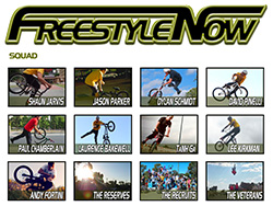 Freestyle Now Team wear GAIN Protection!