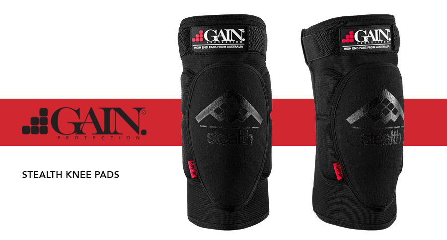 Protection NEW GAIN Stealth Knee Pads Protection