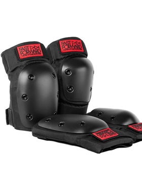 FAST FORWARD Rookie Knee & Elbow Pad Set