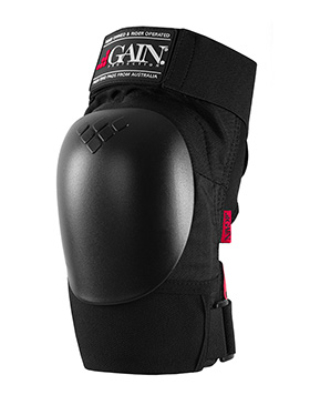 GAIN THE SHIELD Hard Shell Knee Pads, w. black caps