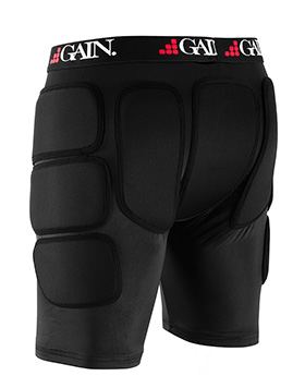 GAIN THE SLEEPER Pro Hip/Bum Protectors, black