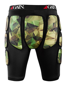 GAIN THE SLEEPER Pro Hip/Bum Protectors, camo