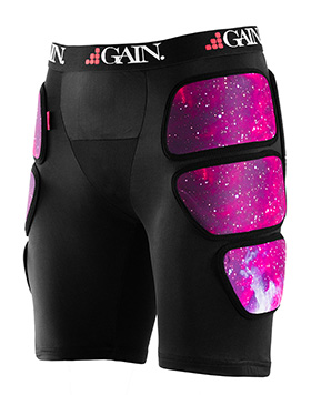 GAIN THE SLEEPER Pro Hip/Bum Protectors, galaxy