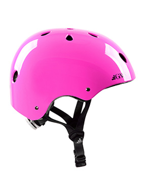 GAIN Protection THE SLEEPER helmet, XS-S-M with adj., hot pink