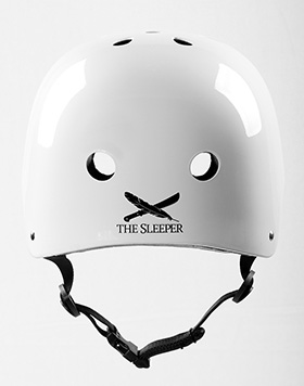 GAIN Protection THE SLEEPER helmet, L-XL, glossy white