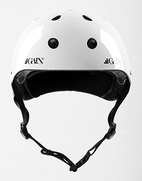 GAIN Protection THE SLEEPER helmet, XS-S, glossy white